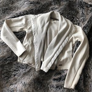 Billabong Cropped Asymmetrical Moto jacket
